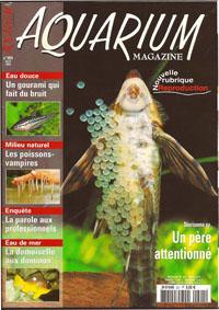 Aquarium magazine couverture